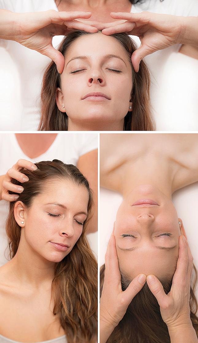 Indische Kopfmassage